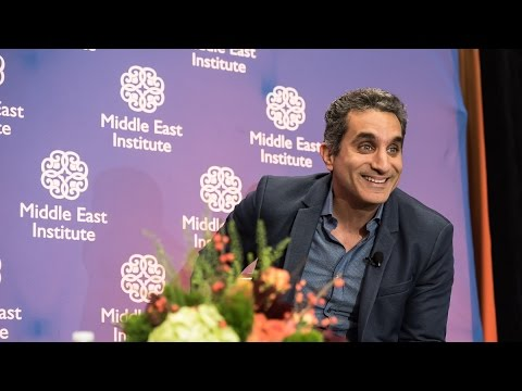 Luncheon with Dr Bassem Youssef
