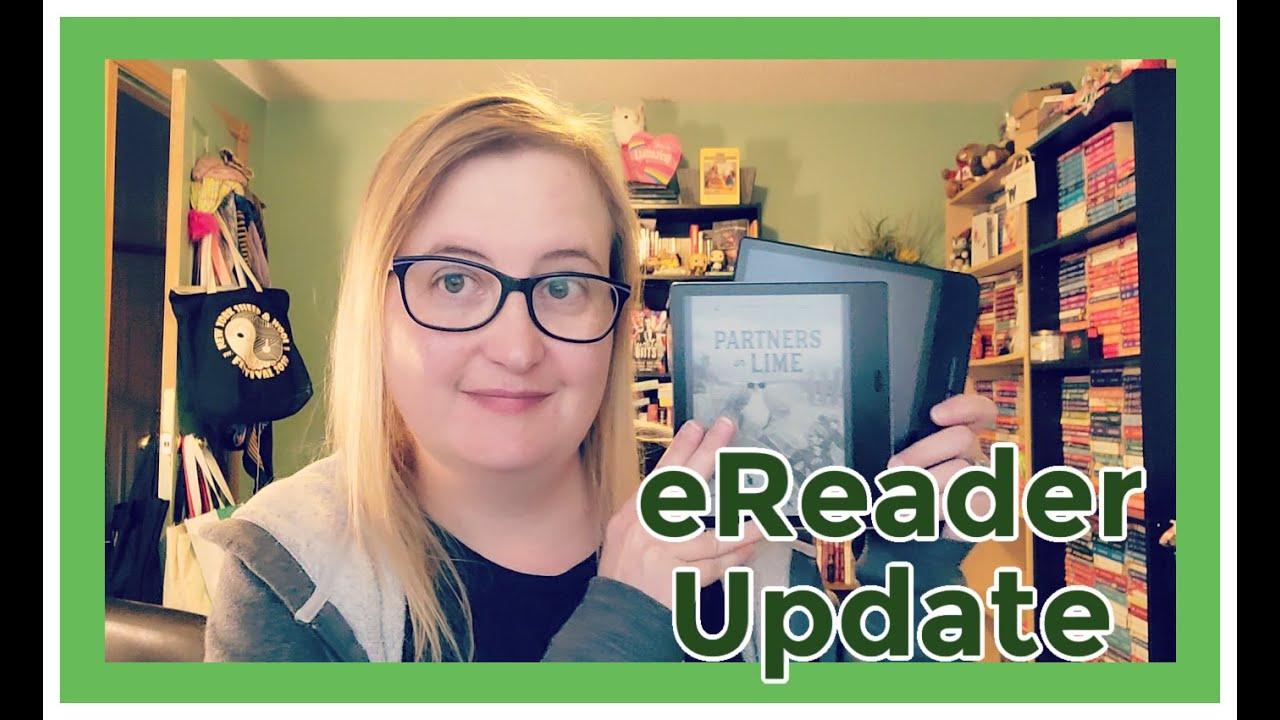 Download eReader Update {Kobo Forma, Kindle Oasis, Kobo Clara}
