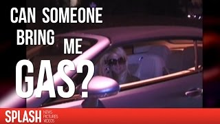 Way Back, When Paris Hilton Forgot To Put Gas In Her Car | Splash News TV