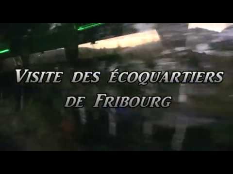 Visite des éco-quartiers de Fribourg en 2011
