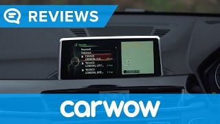 BMW X1 SUV 2017 iDrive infotainment and interior review | Mat Watson Reviews
