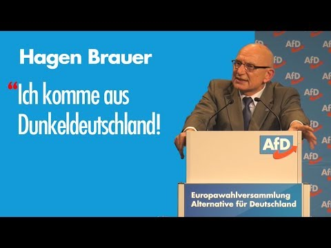 Hagen Brauer | EU-Wahl '19 – Listenplatz 15