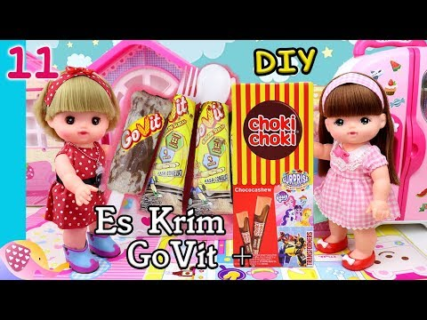 Cooking Time #11 Es Krim GoVit+Choki Choki - GoDuplo TV