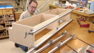 The Down to Earth Woodworker - Bath Vanity Part 3