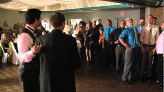 J&J VIDEO PRODUCTIONS-CLEVELAND OHIO, 440-845-2122,  BRIDE AND GROOM, THE BOUQUET AND GARTER TOSS