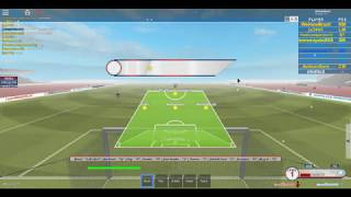 Roblox Soccer: Mexico VS Man United
