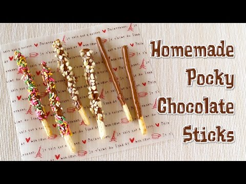 Homemade Pocky Chocolate Sticks ポッキーの作り方 - OCHIKERON - CREATE EAT HAPPY