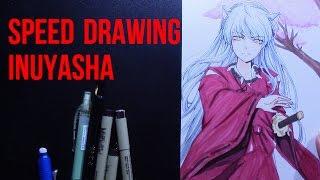 Speed Drawing Inuyasha (Fanart)