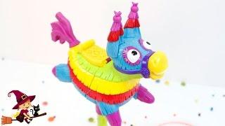 Juego de Mesa para Niños 🦄 Piñata que Suelta Juguetes