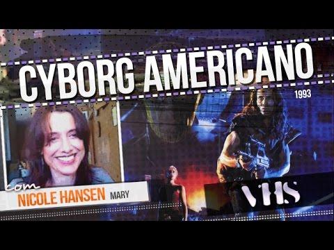 American Cyborg: Steel Warrior 1993  Nicole Hansen   VHS