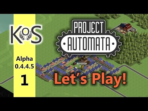 Project Automata (0.4.4.5) - Let's Play - Production Line Builder - Ep 1