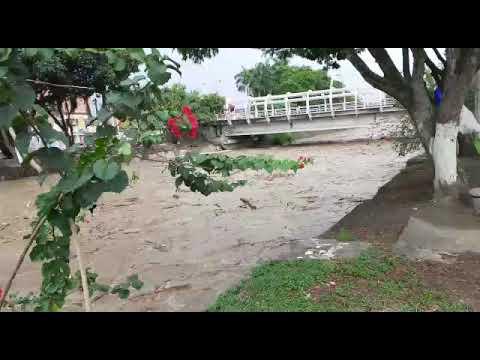 Crecida súbita del río en Tuluá prendió alarmas