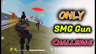 Power Of SMG Guns in Free Fire - Desi Gamers - Ony With SMG Gun