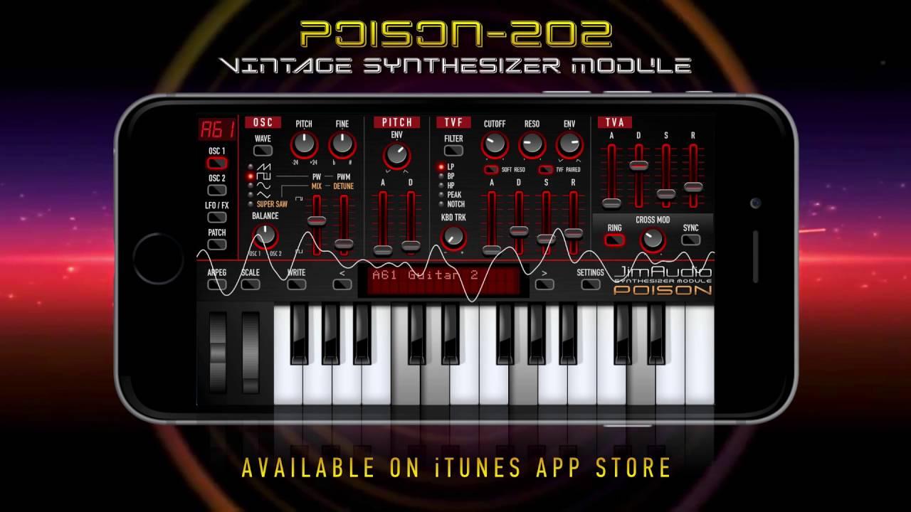Poison-202 Vintage MIDI Synthesizer by JimAudio