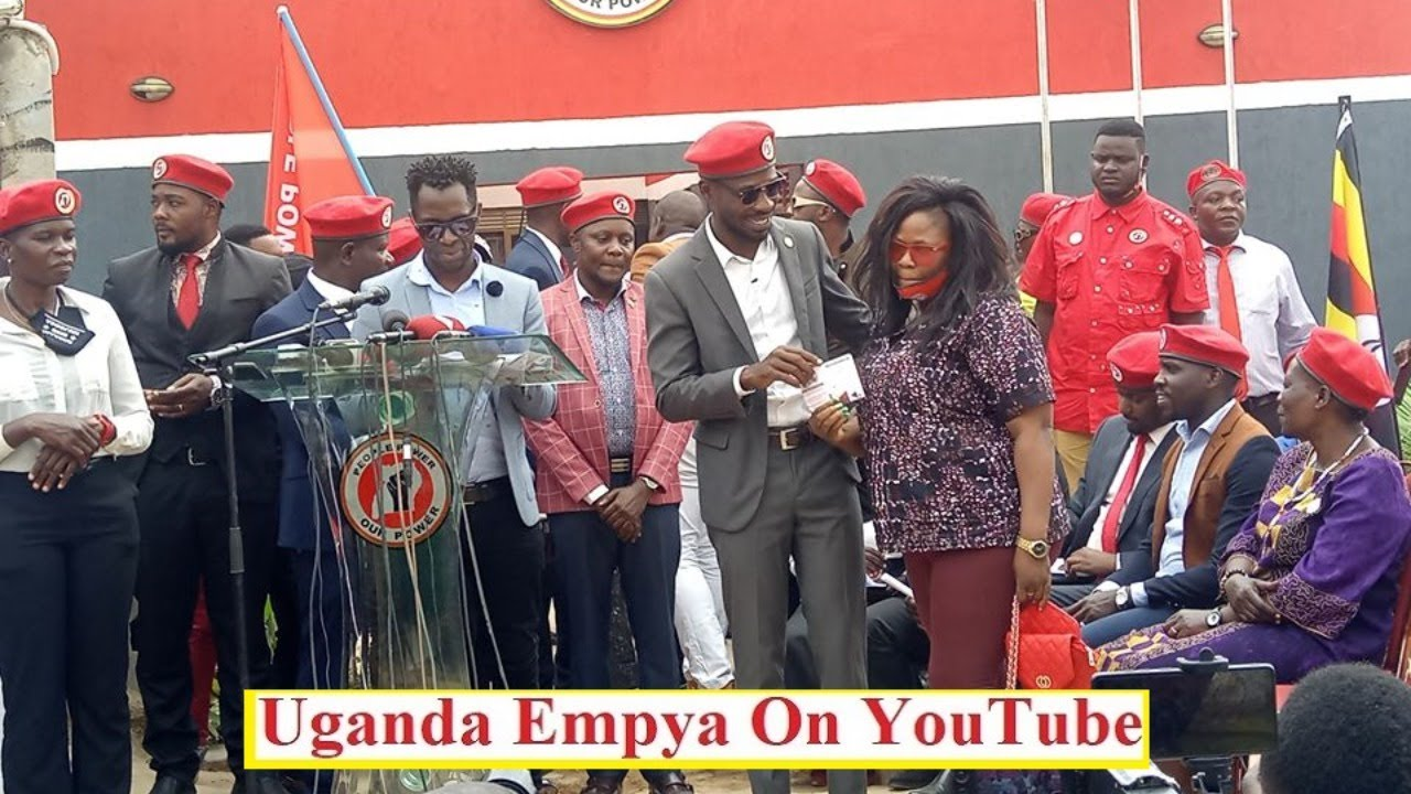 Basajja Mivule & Many Artists Join NUP As Bobi Wine Welcomes Them To the Wining Team