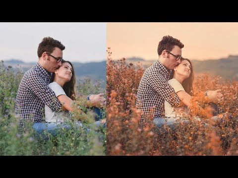 Autumn color effect | Photoshop tutorial | Soft light color look thumbnail