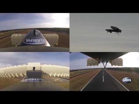 DARPA Completes Testing of Subscale Hybrid Electric VTOL X-Plane