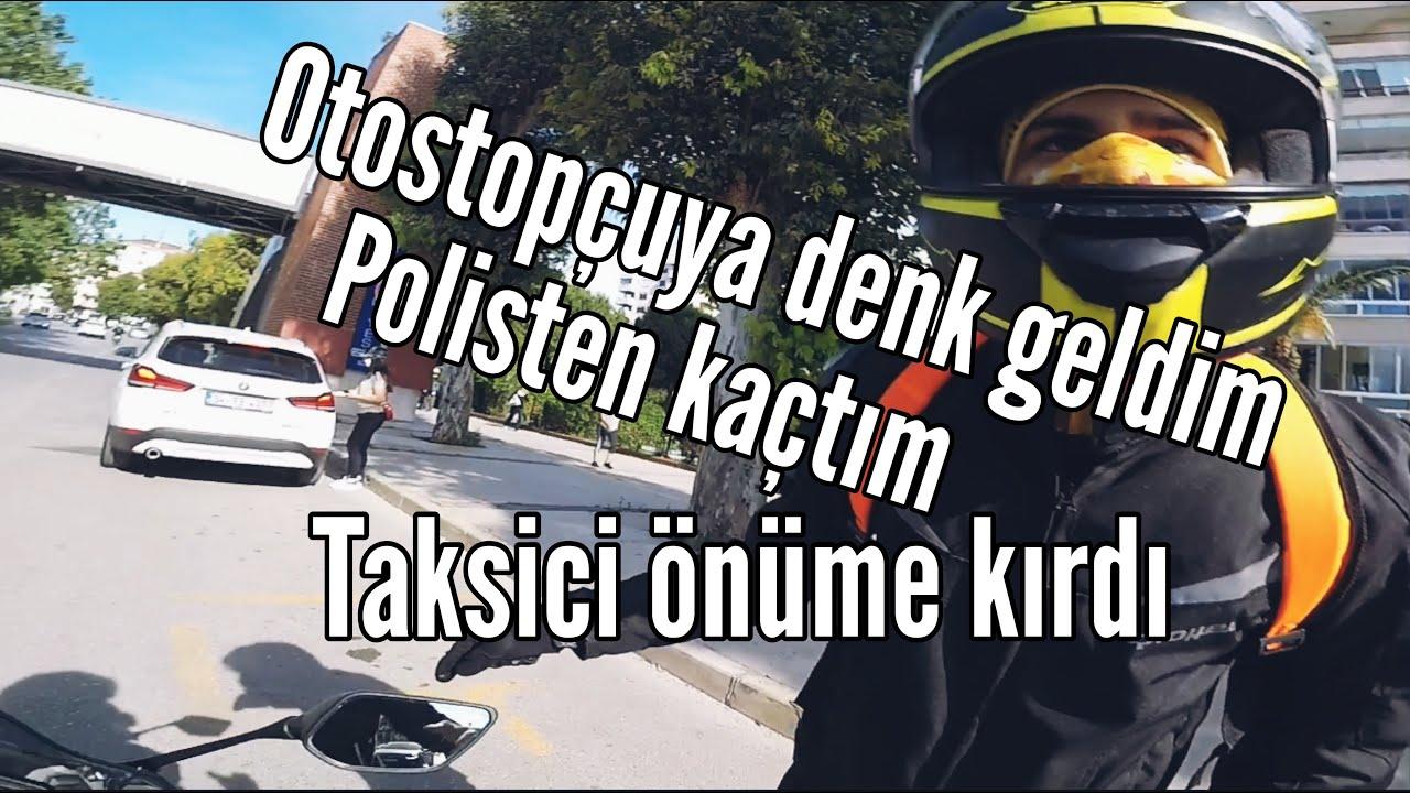 R25 İLE OTOSTOPÇU ALMAK/POLİSTEN KAÇMAK/KAZADAN KIL PAYI KURTULMAK