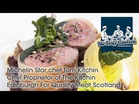Michelin Star Chef Tom Kitchin Chef Proprietor Of The Kitchin Edinburgh For Quality Meat Scotland