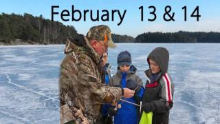 Sen. Hansen promotes free winter fishing weekend