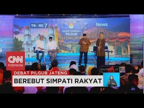 Debat Pilgub Jateng 1/5: Visi Misi Ganjar Pranowo Dan Sudirman Said