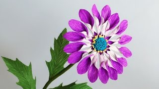 ABC TV | How To Make African Daisies Paper Flower From Crepe Paper - Craft Tutorial