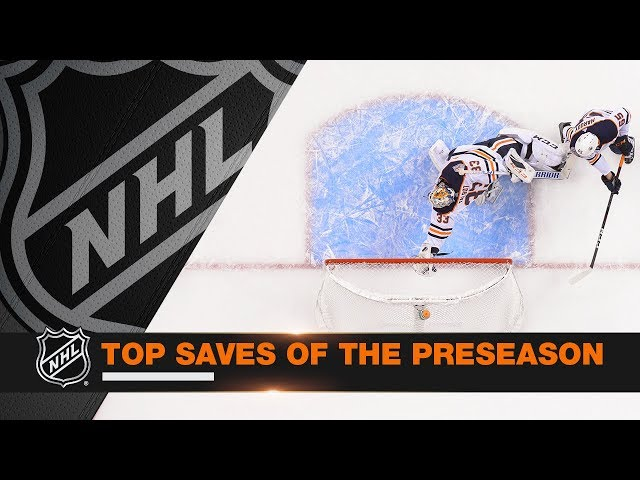 Top 10 Saves of the 2018 NHL Preseason