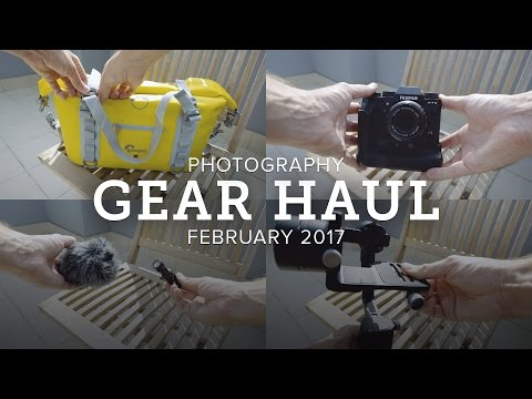 FUJIFILM X-T2 + Other Travel Photography Tech Haul