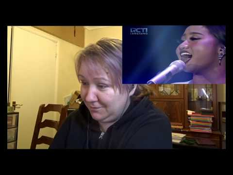Maria - Never Enough. Reaction video. Indonesian Idol.