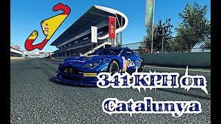 TC Top Speed 341 Kph Aston Martin Catalunya GP