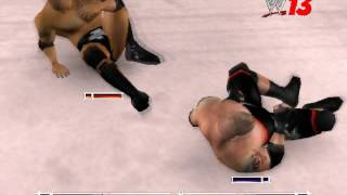 WWE 2K13 GAMEPLAY