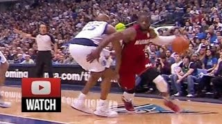 2011.12.25 Dallas Mavericks vs Miami Heat Dwyane Wade Highlights, Christmas Revenge!