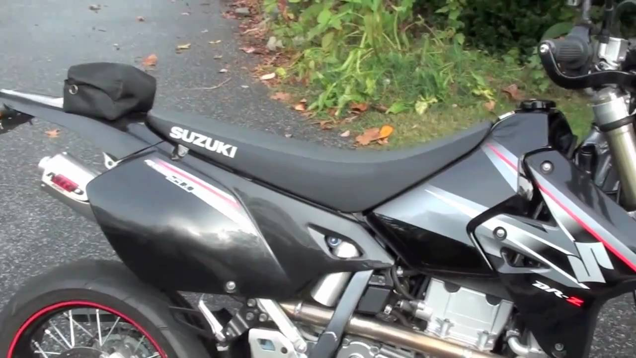 2006 DRz400sm Overview & MRD Exhaust Sound! - YouTube