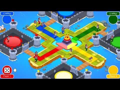 🎲 Ludo Mania Saga - Dice Board Games For Free 🎲 (4 Player Game)