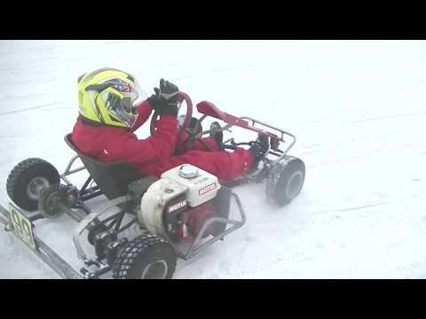 Ярославская школа картинга: первое зимнее занятие