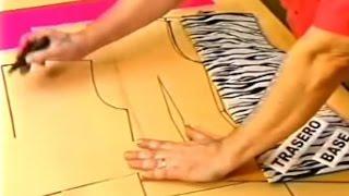 Hermenegildo Zampar - Transformación de vestido | DIY | Moldería