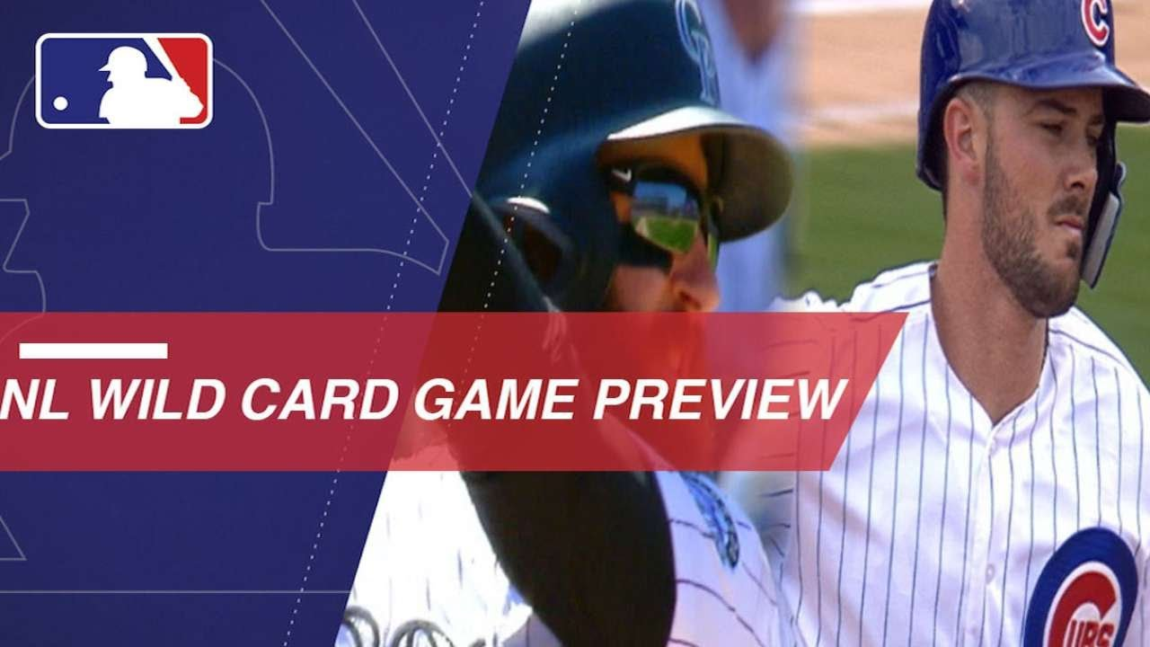 NL Wild Card Game Preview: Rockies vs. Cubs