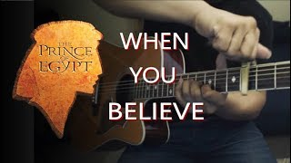 When You Believe - The Prince of Egypt Guitar Cover | Anton Betita