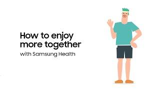Samsung Health: How to Enjoy Walking More Together | Samsung screenshot 1