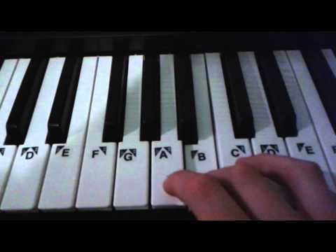 I'm Gonna Be-500 miles Piano Tutorial(Super Easy)