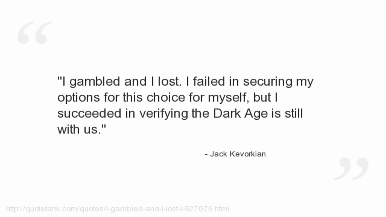 Jack Kevorkian Quotes Jack Kevorkian Quotes  Youtube