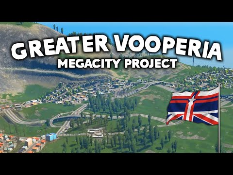 The Birth Of A World - Cities Skylines: Vooperia Episode 1