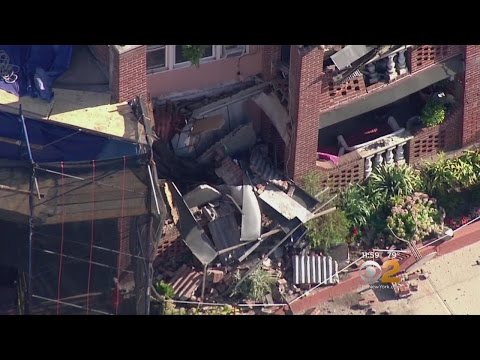 Balconies Collapse In Long Beach