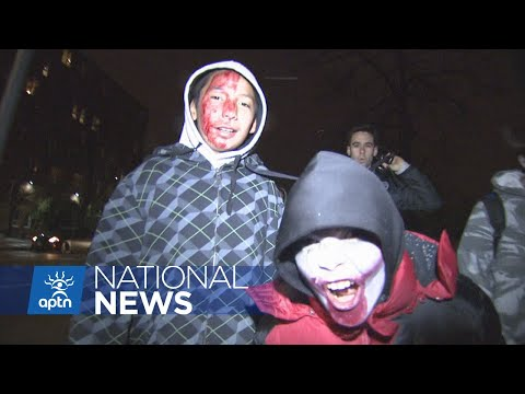 Zombie apocalypse in Winnipeg's north end | APTN News