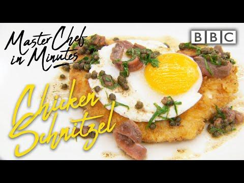 Chicken Schnitzel: Meals in Minutes | Masterchef: The Professionals - BBC