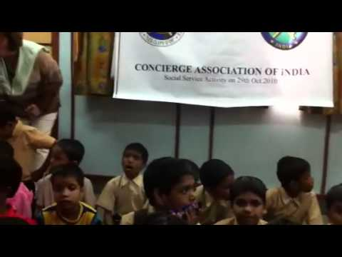 Les Clefs d'Or visits children's home New Delhi