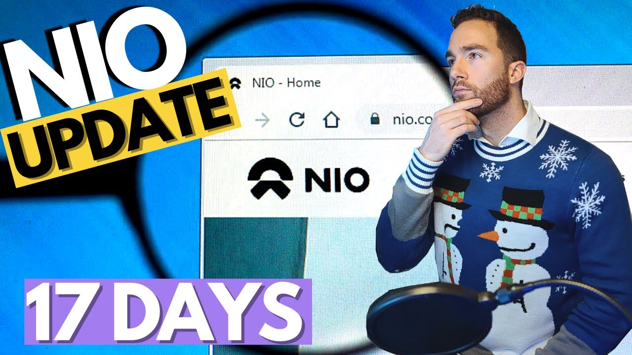 Nio Stock Update Just Confirmed For Nio Day 2021 Countdown T Minus 17 Days Youtube