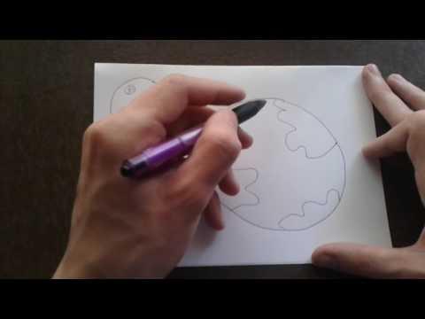 Как поэтапно нарисовать ЗЕМЛЮ для начинающих и детей? How To DRAW Earth