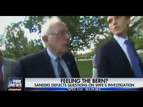 Bernie Sanders Refuses To Answer Questions 'FBI Investigation for Bank Fraud'