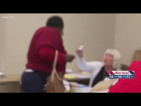 Manny's - VIDEO: Texas Elex Official Caught Screaming at Black Voter